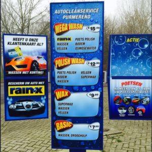 Klantenkaart Wasstraat - Autocleanservice Purmerend