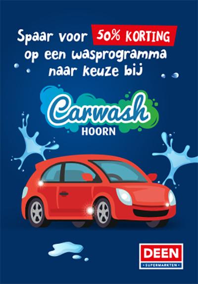 DEEN Spaaractie - Carwash Hoorn